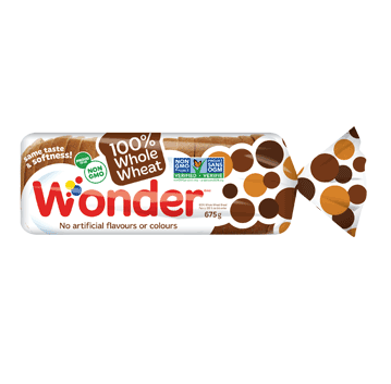 Wonder® 100% Whole Wheat Bread 675g