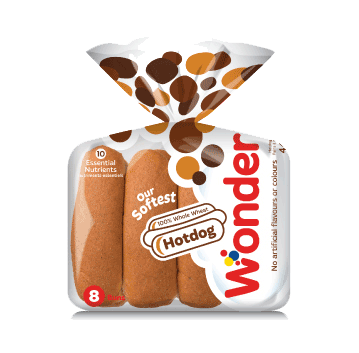 Wonder® 100% Whole Wheat Hotdog Buns 8pk