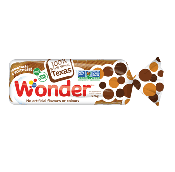 Wonder® 100% Whole Wheat Texas Toast Bread 675g
