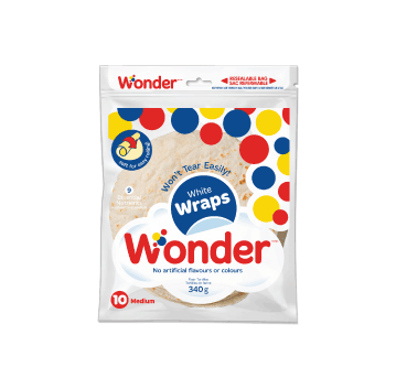 Wonder® White 7″ Wraps 10pk