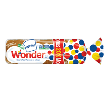 Wonder® White Bonus Loaf 810g