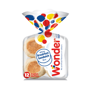 Wonder® White Breakfast Sandwich 12pk