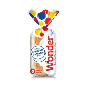 Wonder® White Breakfast Sandwich 6pk