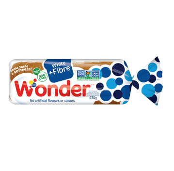 Wonder® White +Fibre Bread 675g